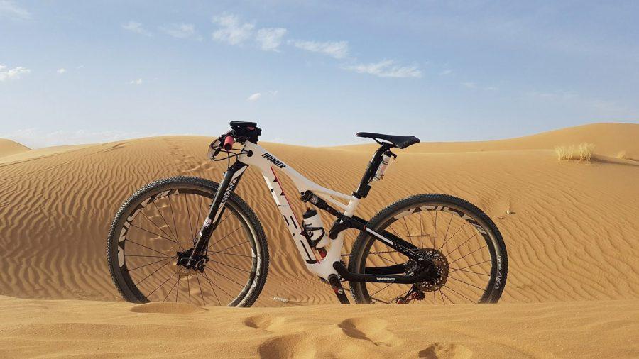 Bicicleta Conor-WRC en la Titán Desert